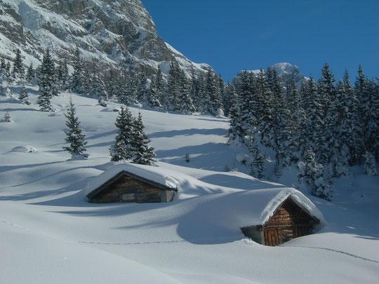 Winter auf der Siedenplangg ob Ratzi