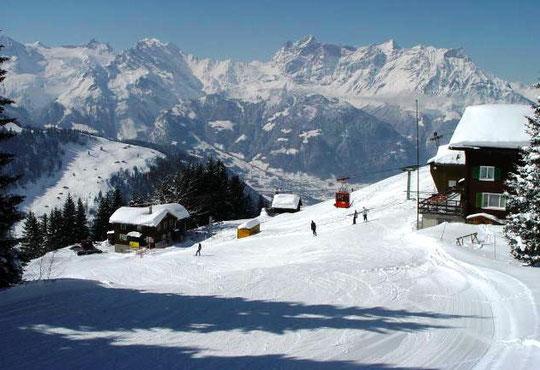 Skibetrieb auf dem Ratzi
