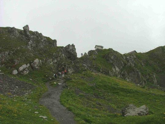 Aufstieg zum Chinzig - Pass