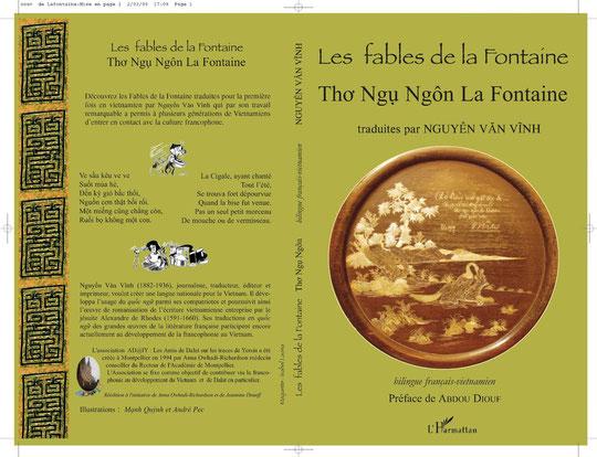 Fables de La Fontaine en édition bilingue franco-vietnamienne