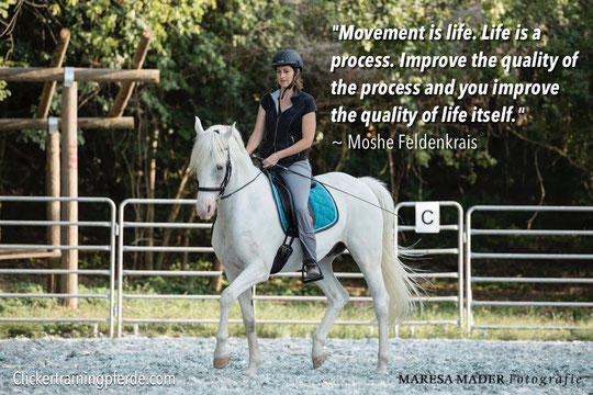"""Movement is life. Life is a process. Improve the quality of the process and you improve the quality of life itself."" ~ Moshe Feldenkrais"