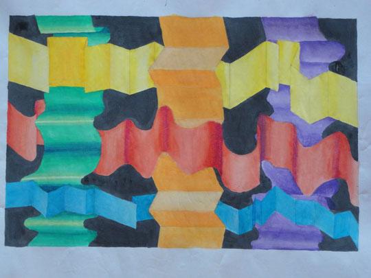 Es ist nur ein blankes Blatt Papier, aber für einen Künstler ist es eine Leinwand der Kreativität.