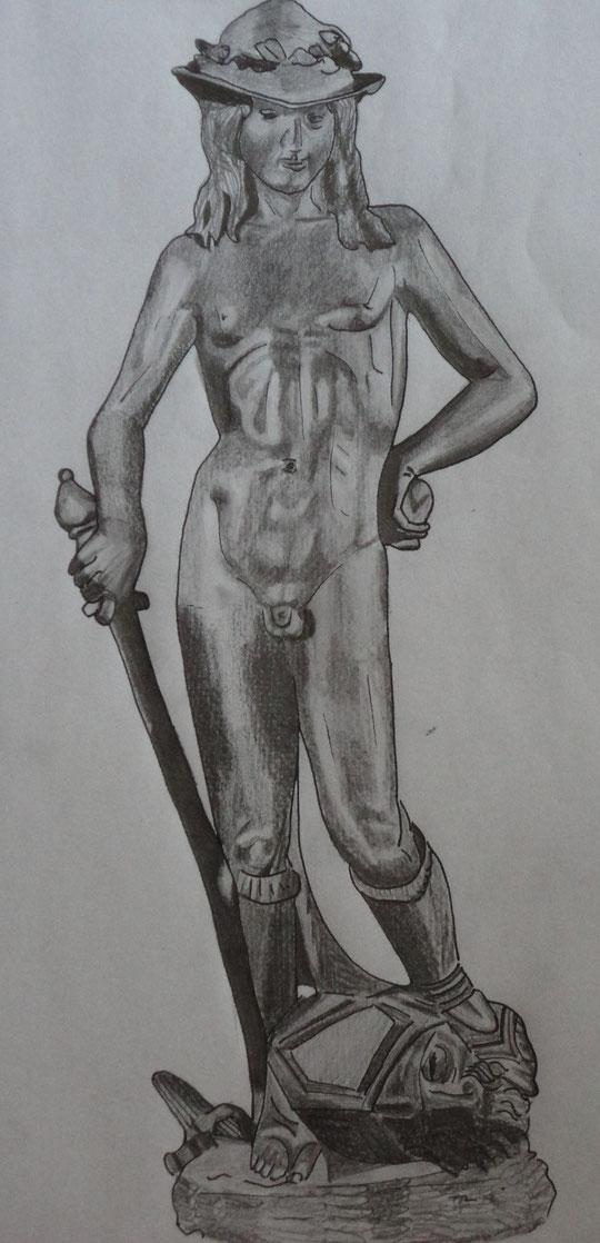 Davidfigur Donatellos