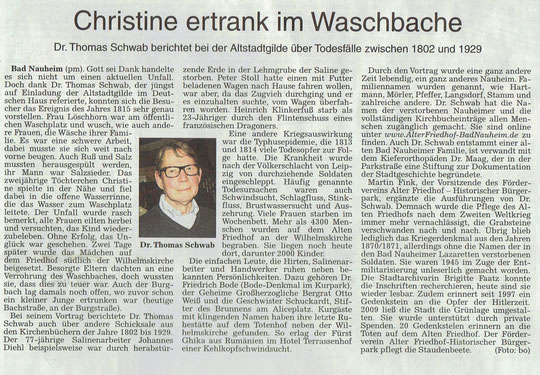 Wetterauer Zeitung vom 02. Oktober 2014