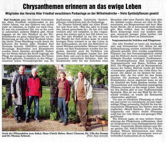 Wetterauer Zeitung vom 21.05.2012