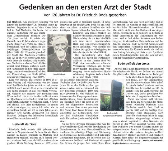 Wetterauer Zeitung vom 28.12.2019