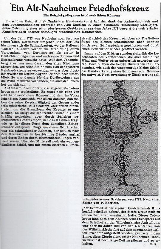 Wetterauer Zeitung vom 17.11.1959