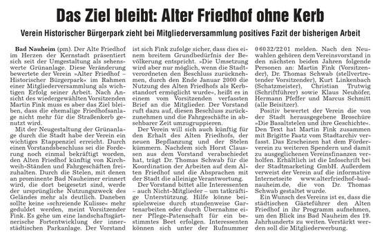 Wetterauer Zeitung vom 07.06.2011