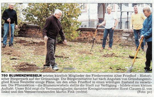 Wetterauer Zeitung vom 03.11.2007