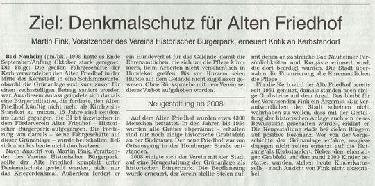 Wetterauer Zeitung vom 16. Oktober 2014