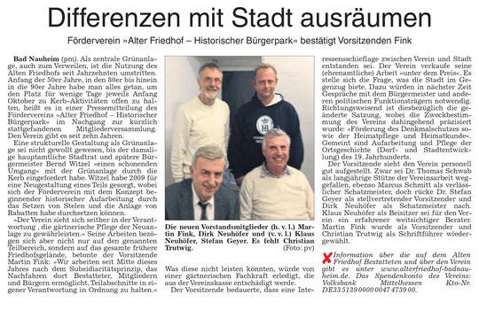 Wetterauer Zeitung vom 21. Dezember 2017