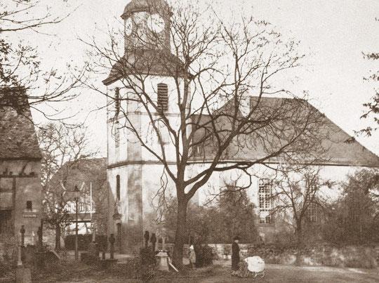 Der Alte Friedhof an der Wilhelmskirche, Aufnahme von Karl Engel, Bad Nauheim, 1942