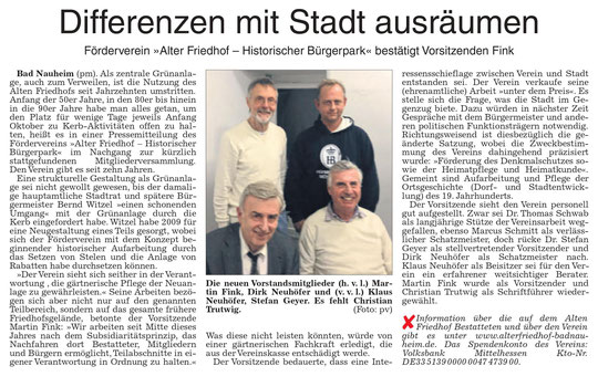Wetterauer Zeitung vom 21.12.2017