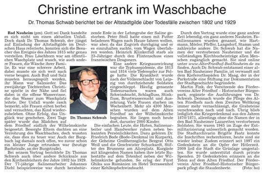 Wetterauer Zeitung vom 02.10.2014