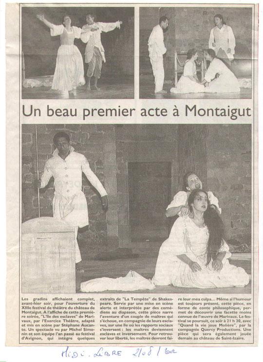 festival theatre Montaigut
