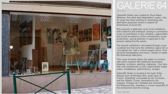 Galerie64 Atelier - Hendaye  ( Francia)