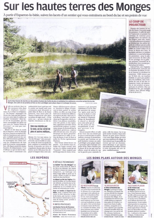 article de la Provence du 8 octobre 2011