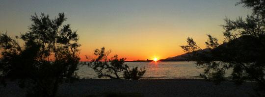 Sonnenuntergang Selina