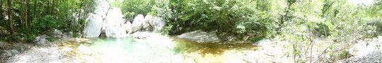 sogar Wasser in der Paklenica