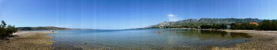 Selina mit Strand