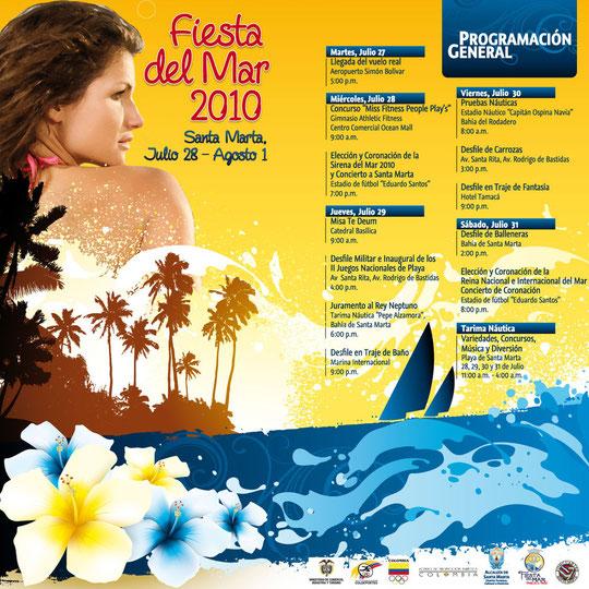 Programm der Fiesta del Mar 2010