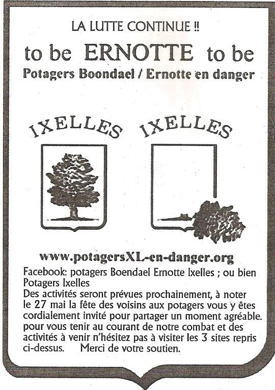 Combat pour protéger les potagers de la rue Ernotte