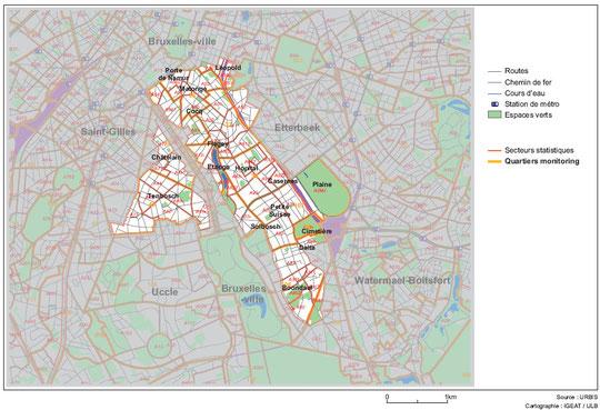 Le plus grand espace vert de la commune d'Ixelles, source 4