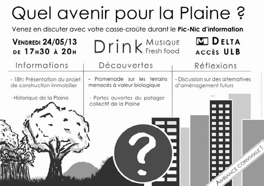 Tract pour le Pic-Nic d'information