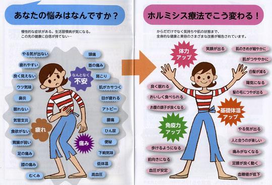 ホルミシス効果で血流改善 旬(ときめき)亭のホルミシスルームで、ラドン浴&陶板浴を!  ラドン浴&陶板浴で、細胞活性、血液サラサラ、体温上昇!  ラドン浴&陶板浴で、血流を改善し、疲れ・汚れ・冷えている腸を活性化、細胞を活かしきりましょう。  ・血液がサラサラになって、血流がしっかりし、低体温から卒業です。 ・腸の活動がしっかりしてくるので、便秘なども解消します。 ・044-955-3061  tokimeki@terra.dti.ne.jp
