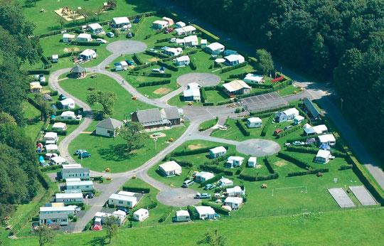 camping lac de condé