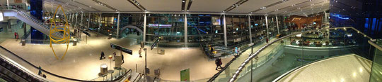 Inside Dublin airport