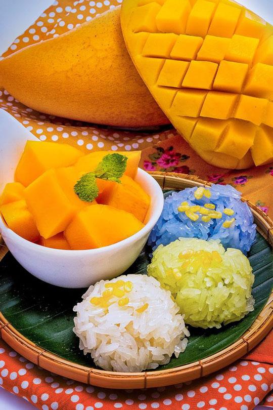 Mango su ryžiais Tailande neįmanoma išvengti