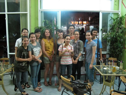 Joining Dong Ha English Club for a nice cultural exchange