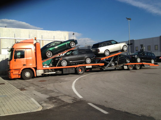 Trasporto Auto, Trattore, Camion, Machine edile