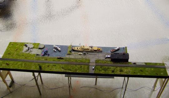 Meine Module 'Hafen mit Bahn'