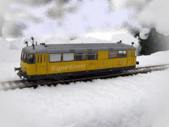 Freie Fahrt im Schnee