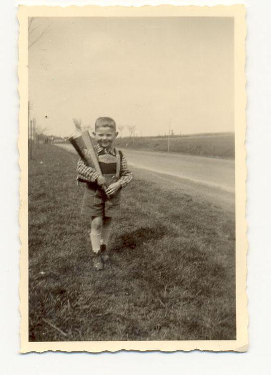 Einschulung 1953