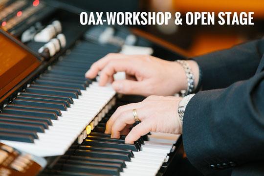 OAX-Workshop im Business Loft Leipzig mit Stefan Baumgarth. (Foto 2019: Uwe Klössing)
