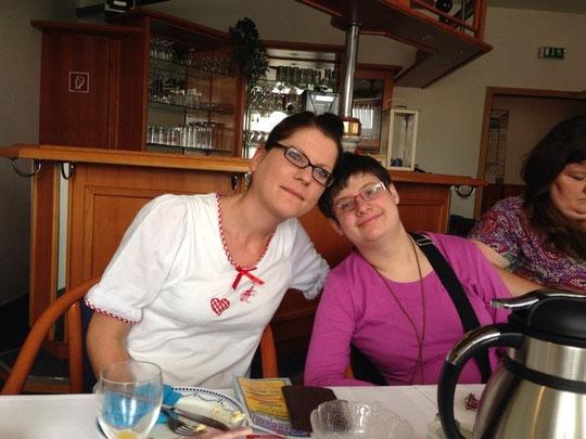 Silke und Kathrin