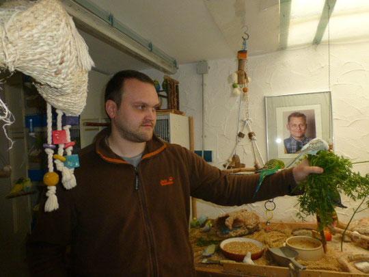 Ulf wird sich gut um die Kuschelmaus kümmern und hat auch schon einen Kameraden!