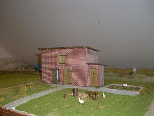 Stallgebäude in Kotzen
