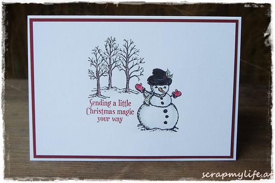 stampin up - weihnachten - Christmas Magic