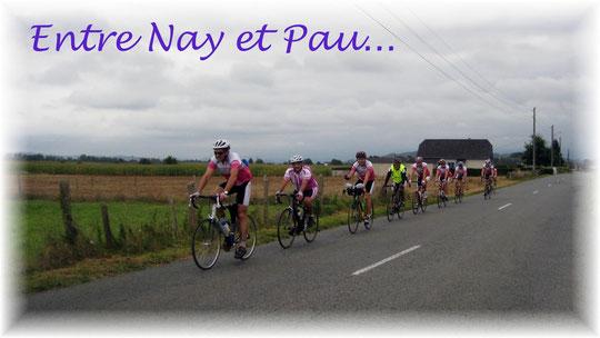 Allure soutenue pour le retour entre Nay et Pau !
