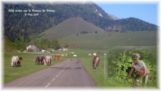 Un temps idéal pour escalader le Col de Marie-Blanque
