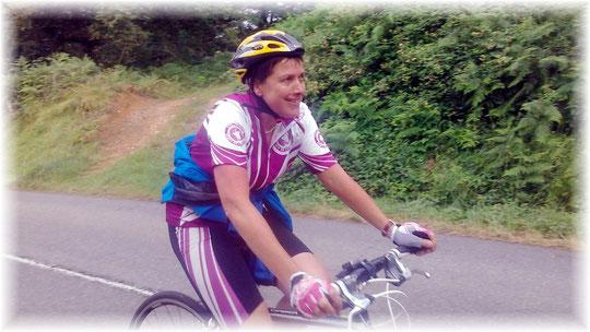 Marie-Claude, l'une de nos valeureuses représentantes...