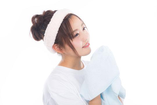 顔を洗う時に腰が痛い奈良県御所市の女性