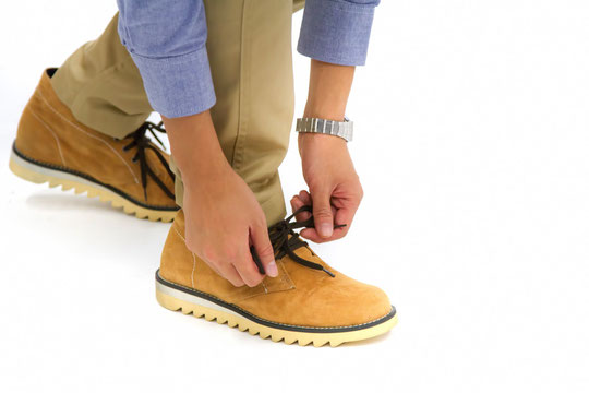 靴が合わずに腰が痛い奈良県葛城市の男子