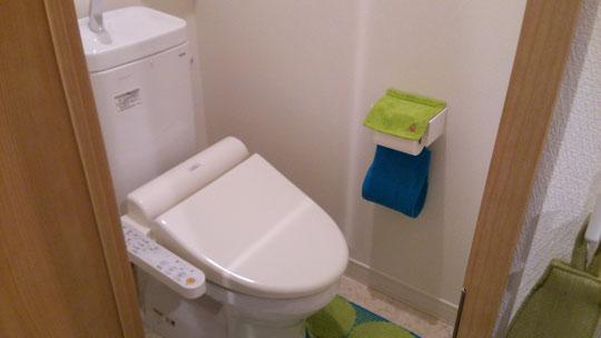 整体パーチのトイレ
