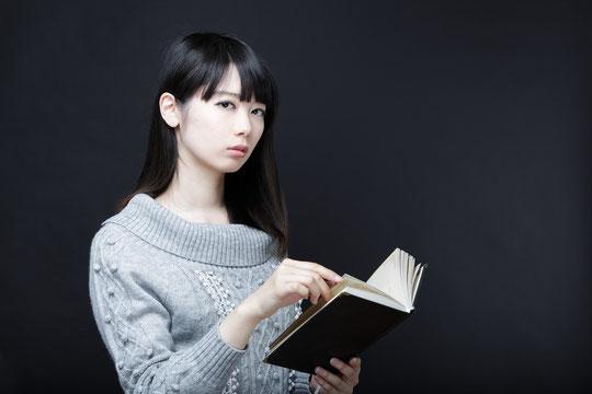 本を読んでいると首が痛い奈良県御所市の女性