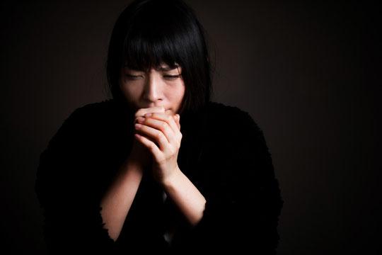 咳をして首が痛くなった奈良県御所市の女性